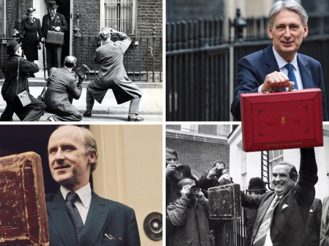 Why the chancellor holds up a big red box before the Budget