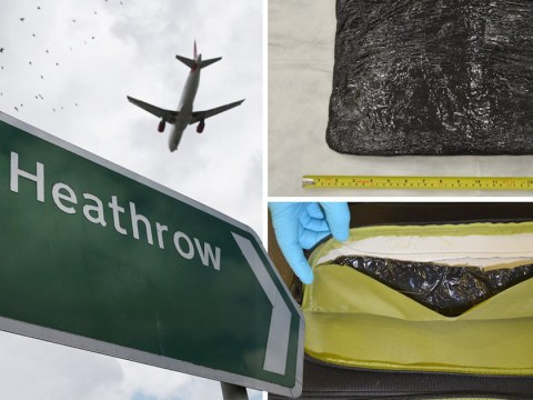 Heathrow security guard arrested after £700,000 worth of cocaine is found in airport toilet