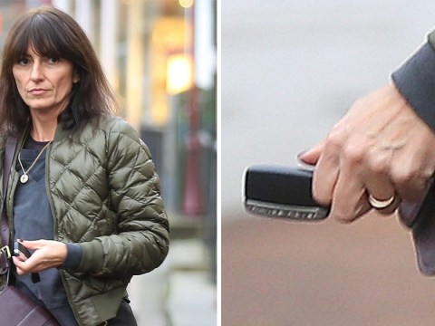 Davina McCall pictured wearing wedding band after announcing split from husband of 17-years