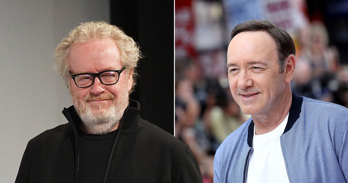 Ridley Scott says he never heard from Kevin Spacey after recasting him