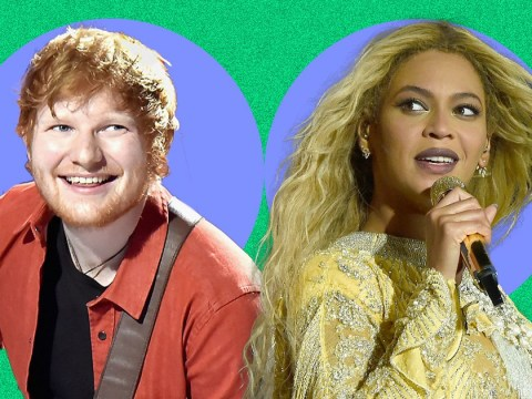 Ed Sheeran and Beyonce have released a duet and it's already tipped for the Christmas number one