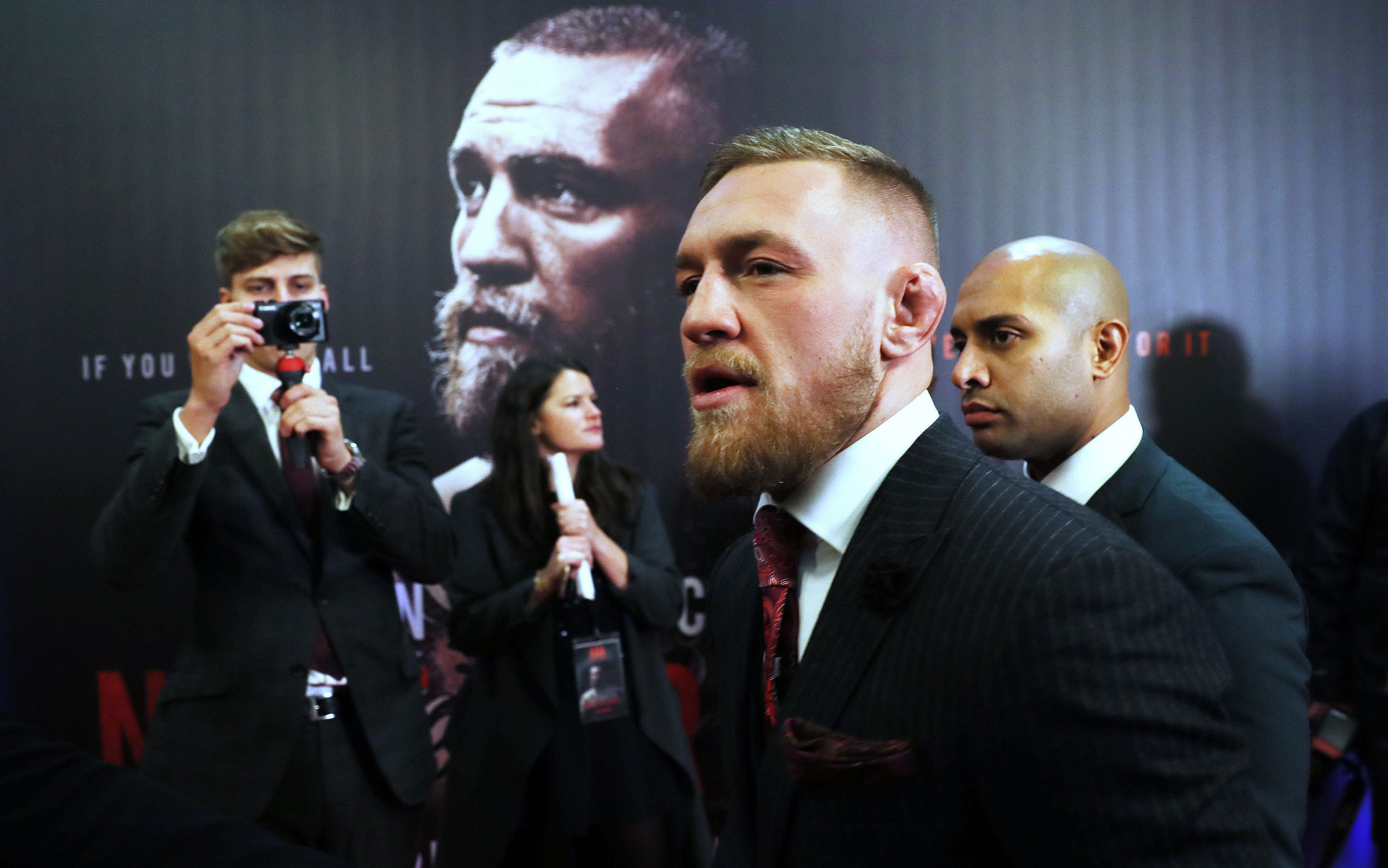 Conor McGregor 'Irish mob' incident 'absolute nonsense', says UFC star's dad