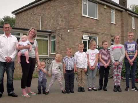 Parents with 10 children spend £1,000 a month on food and want more kids