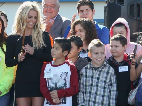 Britney Spears opens children's cancer facility after donating $1million of ticket sales from Vegas residency