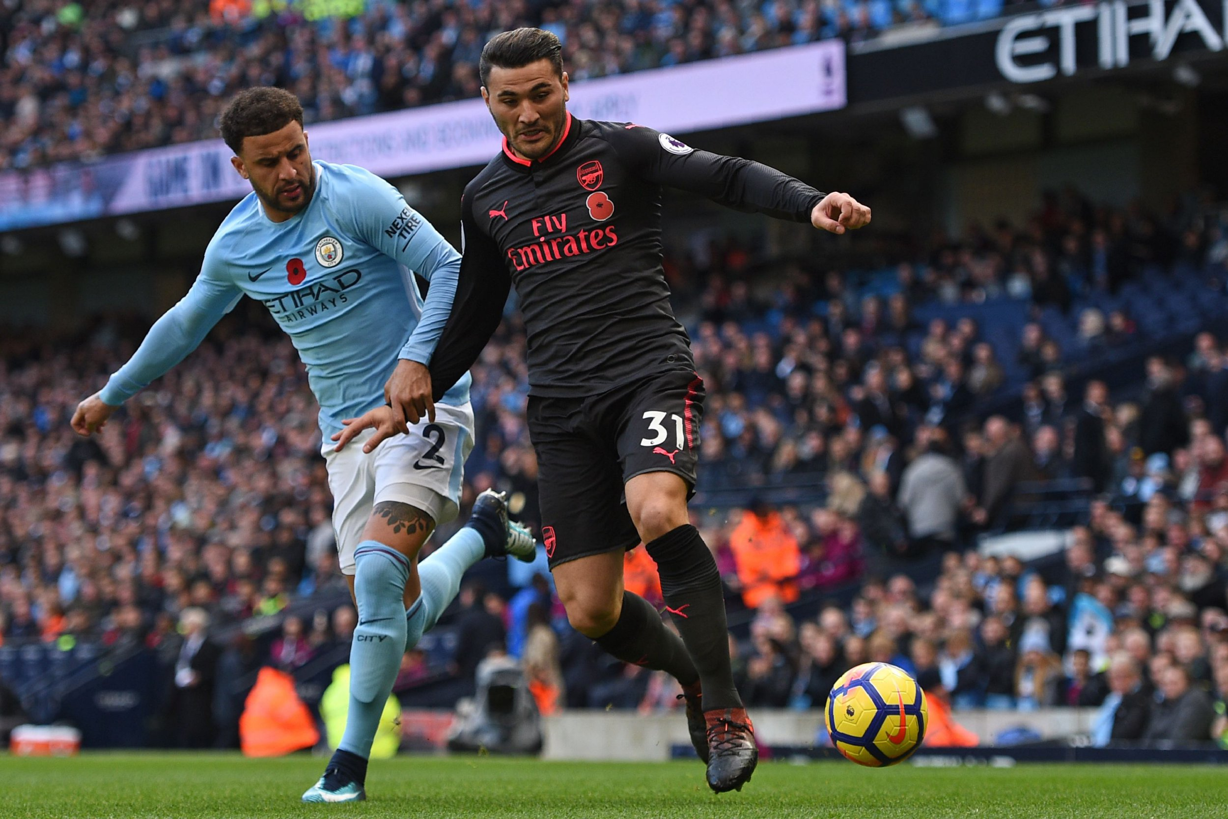 Sead Kolasinac letting David Silva go for Manchester City's opener was 'unforgivable', claims Jamie Carragher