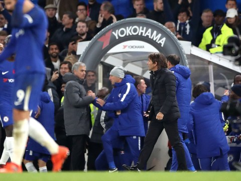 Antonio Conte speaks out on Jose Mourinho handshake snub after Chelsea 1 Manchester United 0