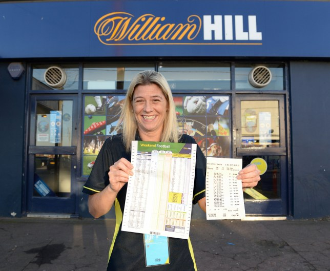 Woman wins £574,278 41 from £1 football accumulator bet on 12