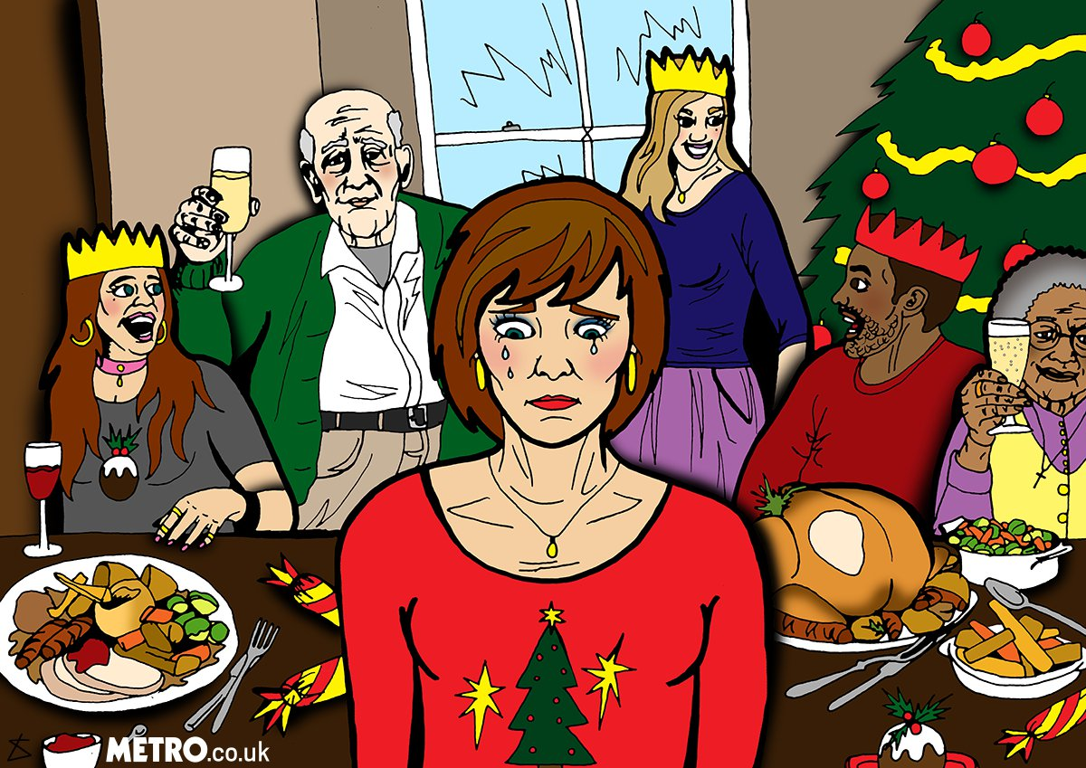 Here's how to support someone with an eating disorder at Christmas