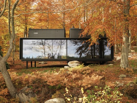 This secluded cabin in the Swedish forest is the ultimate wilderness escape