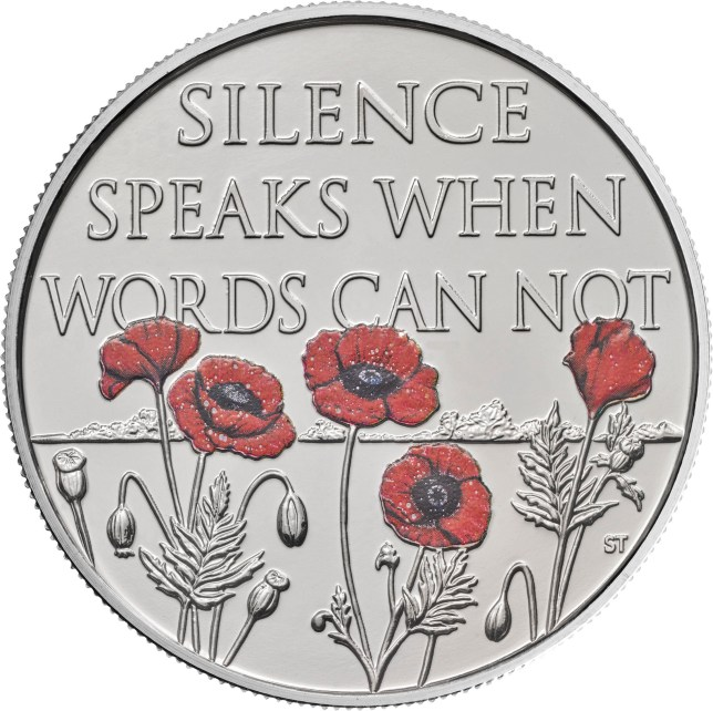 Special £5 Remembrance Day coin inspired by war poem | Metro News