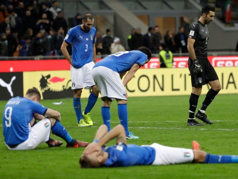 Italy fail to qualify for World Cup for first time in 60 years after heroic Sweden performance