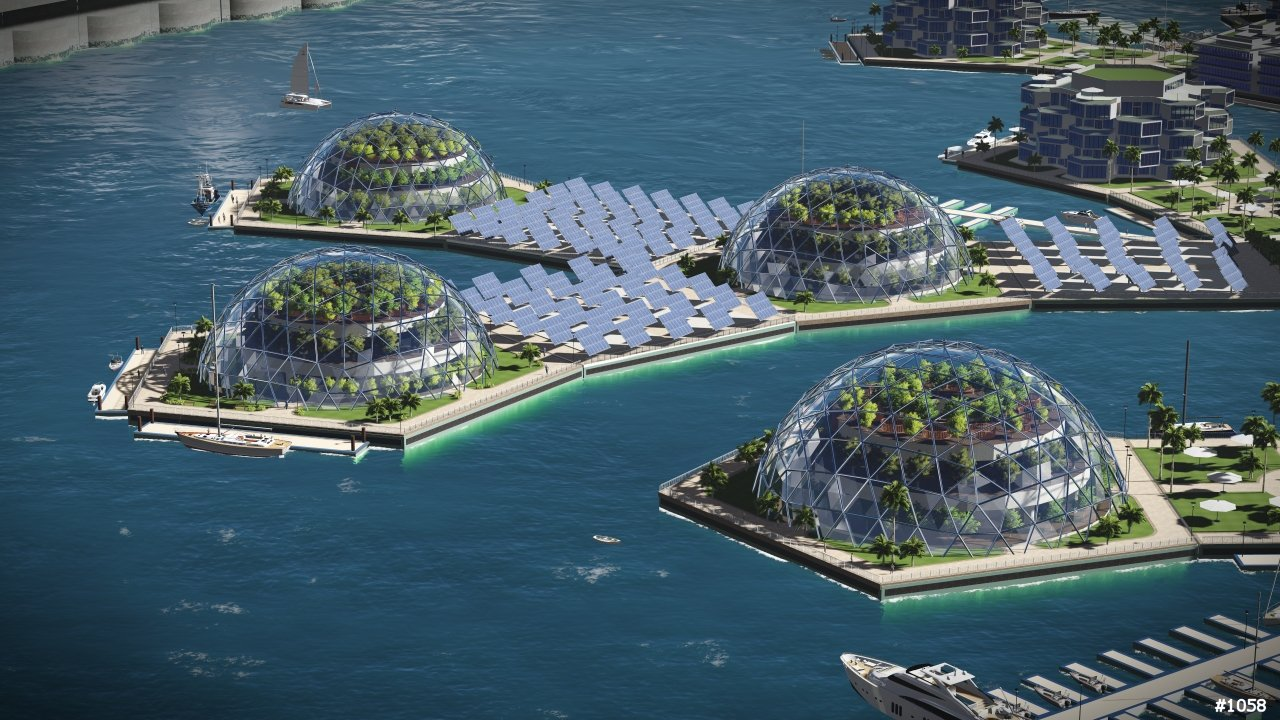 The world could have its first ever floating city by 2020