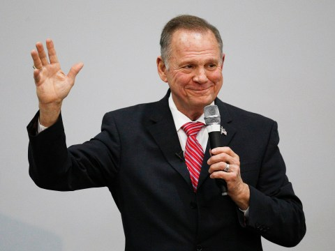 Roy Moore jokes about sexual encounter with 14-year-old