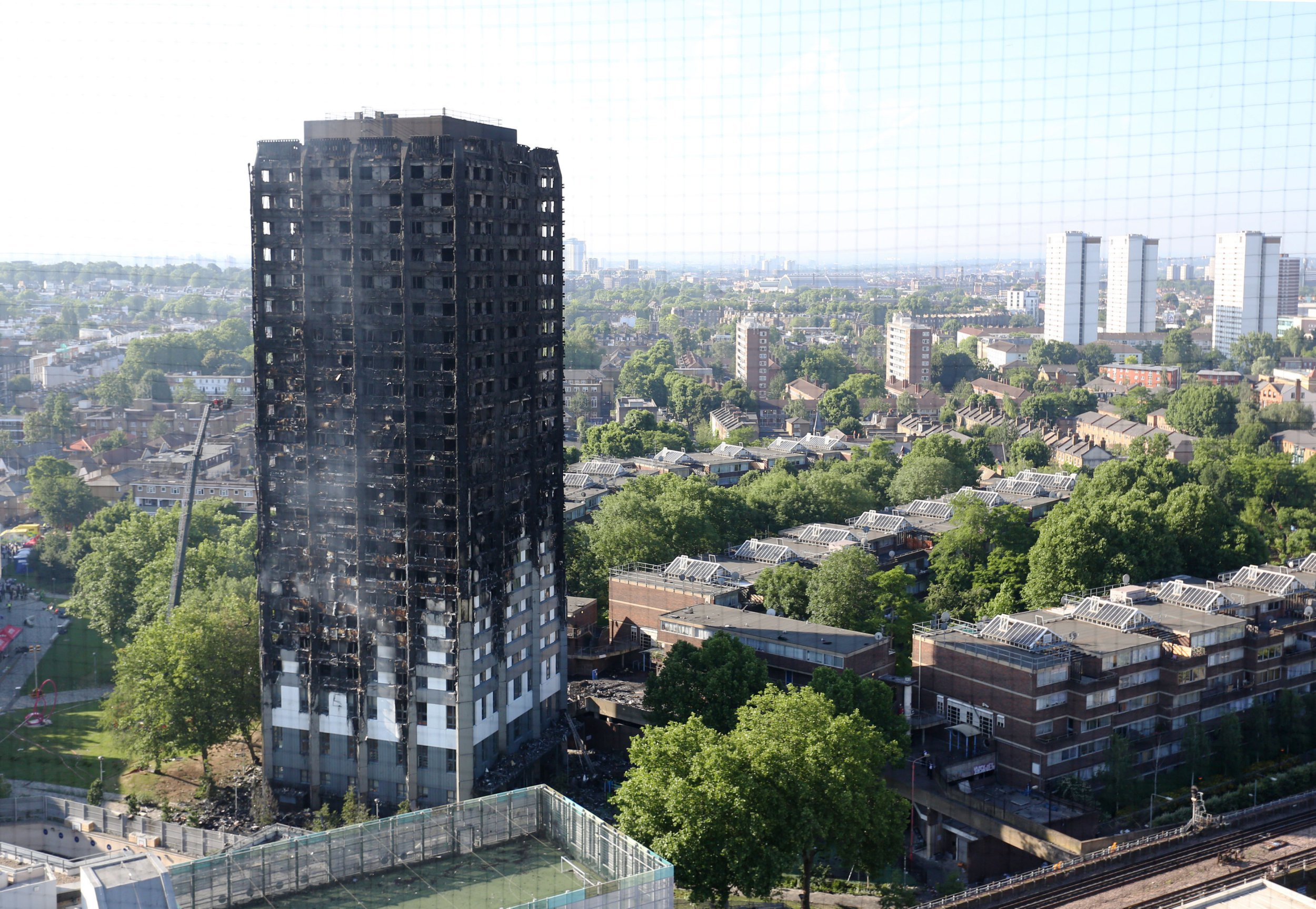 How many people died in the Grenfell Tower fire?