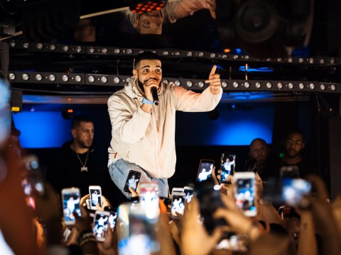 Drake promises to 'f**k up' concertgoer after catching him groping women