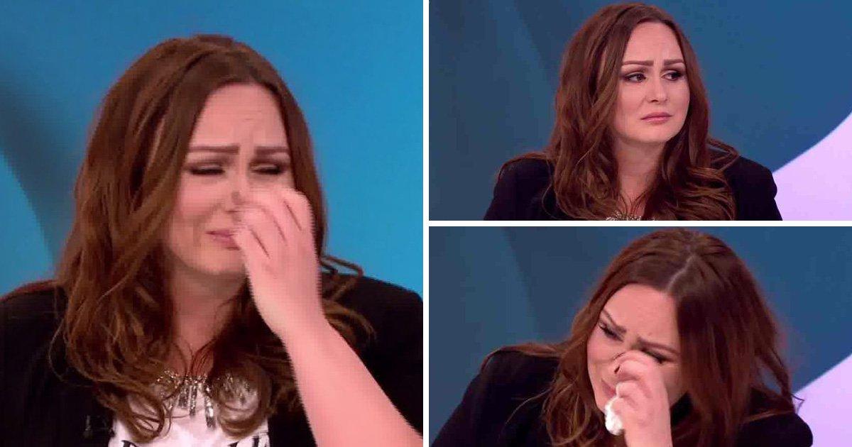 Chanelle Hayes breaks down as she admits she regrets posting details of Ryan Oates break-up on Twitter