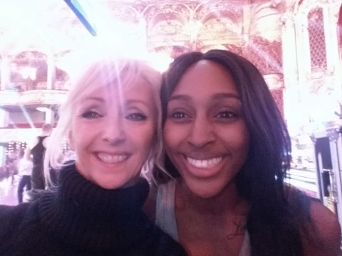 Debbie McGee calls rumoured Strictly feud with Alexandra Burke a load of 'cods wallop'