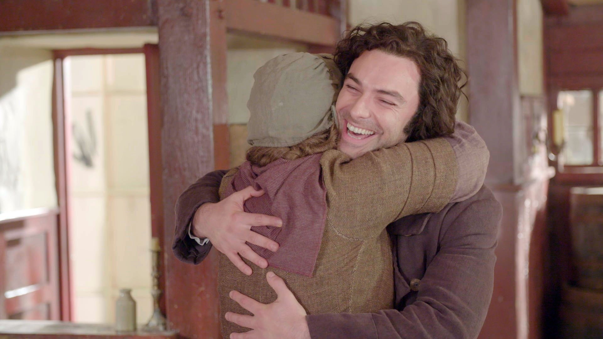 Aidan Turner turns up to surprise Poldark fans on Children In Need 2017