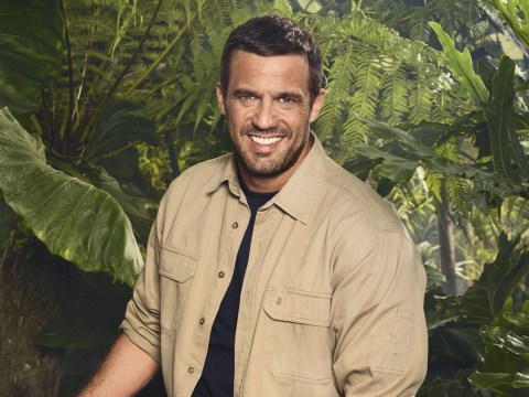 Jamie Lomas says ex Kym Marsh is supporting him on I'm A Celeb and will make daughter Polly watch