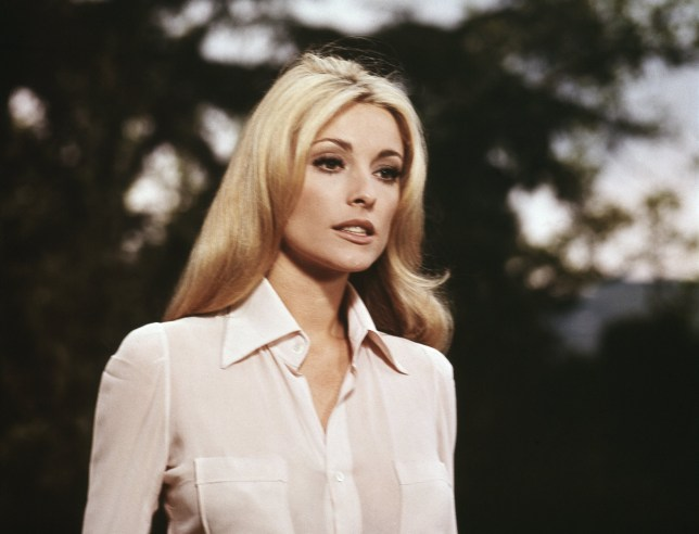 Actress Sharon Tate who was murdered by Charles Manson in 1969
