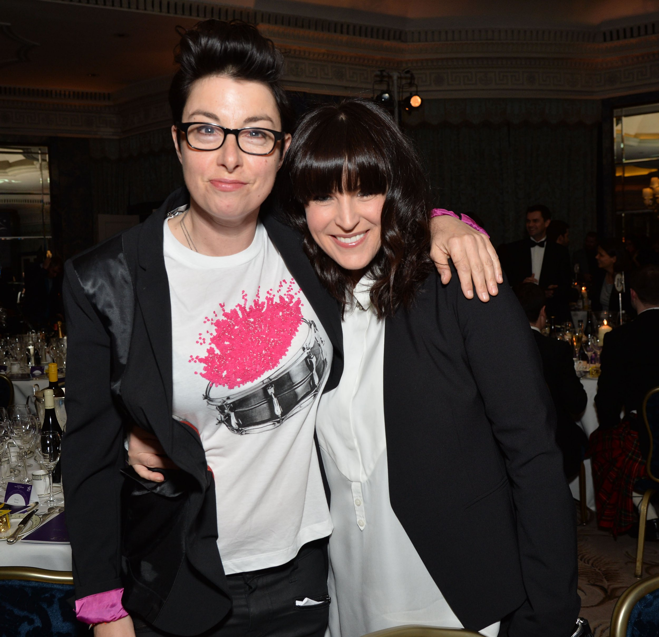 Who is Naked Attraction host Anna Richardson and how long has she been dating Sue Perkins?