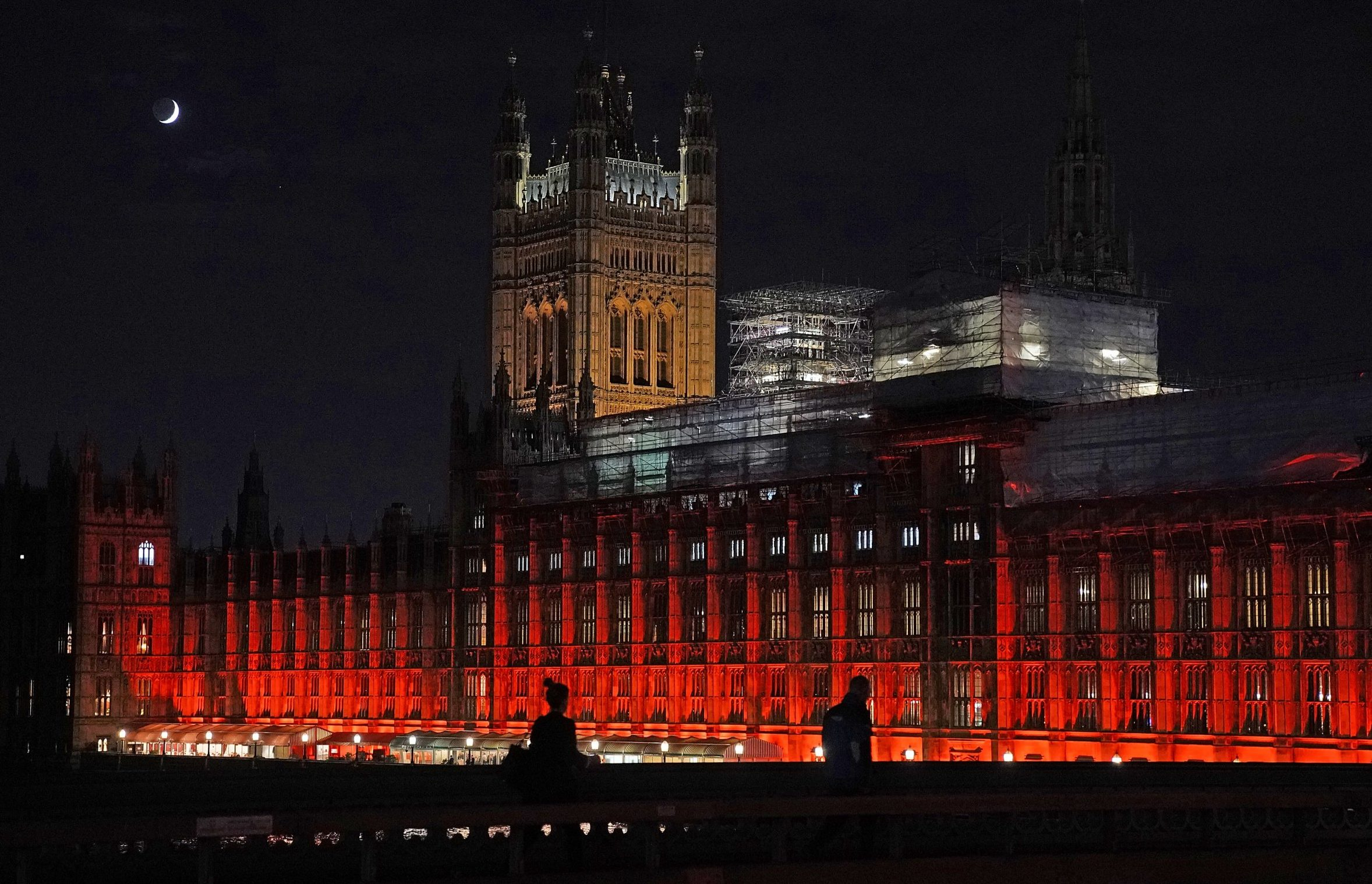 Why are the Houses of Parliament red?