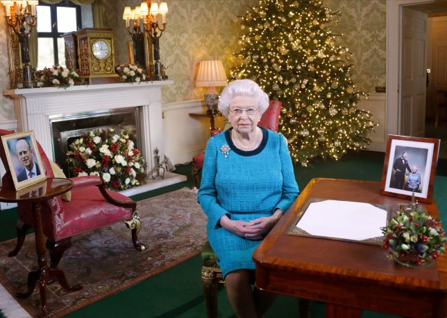 Queen at Christmas