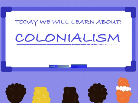 Why children must learn the full truth about colonialism at school