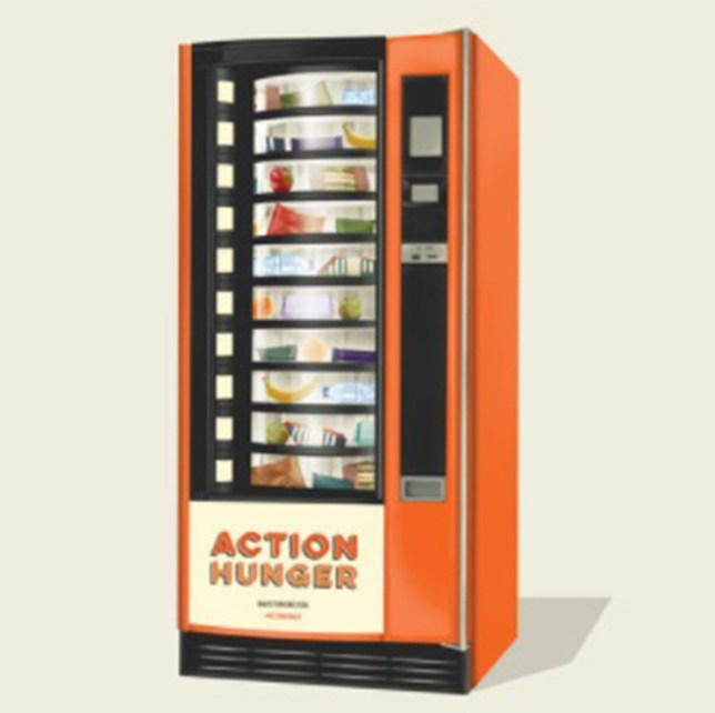 Britain's first vending machine designed for homeless people launches just in time for Christmas