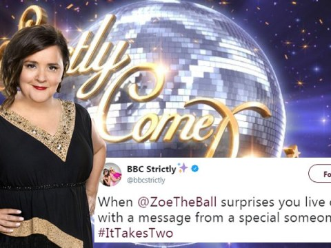 Susan Calman and Kevin Clifton shriek as Strictly Ballroom star surprises them on It Takes Two