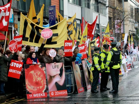Anti-choice protesters outside abortion clinics could face tougher laws