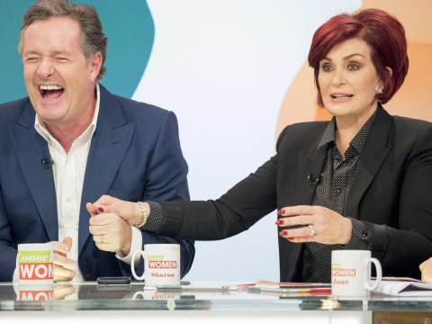 Piers Morgan reveals he had to take a sleeping pill after Sharon Osbourne tried to strangle him