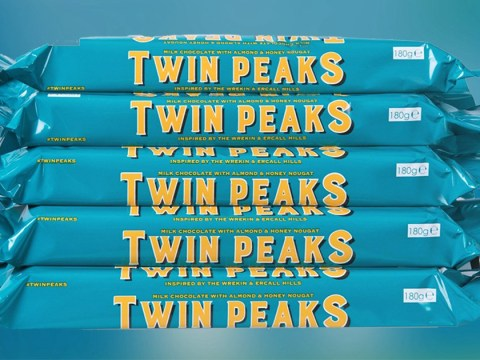 Poundland is selling 500,000 Toblerone-style Twin Peaks bars