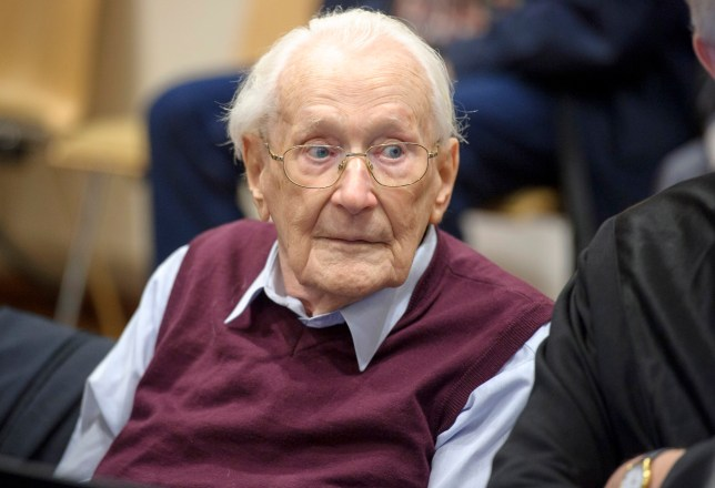 Bookkeeper of Auschwitz, 96, jailed for four years