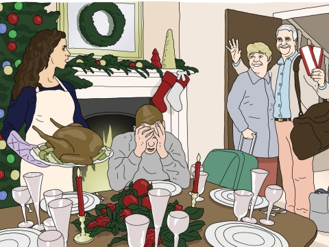 'We'd rather be at Butlins': People reveal the worst things their in-laws have ever said at Christmas