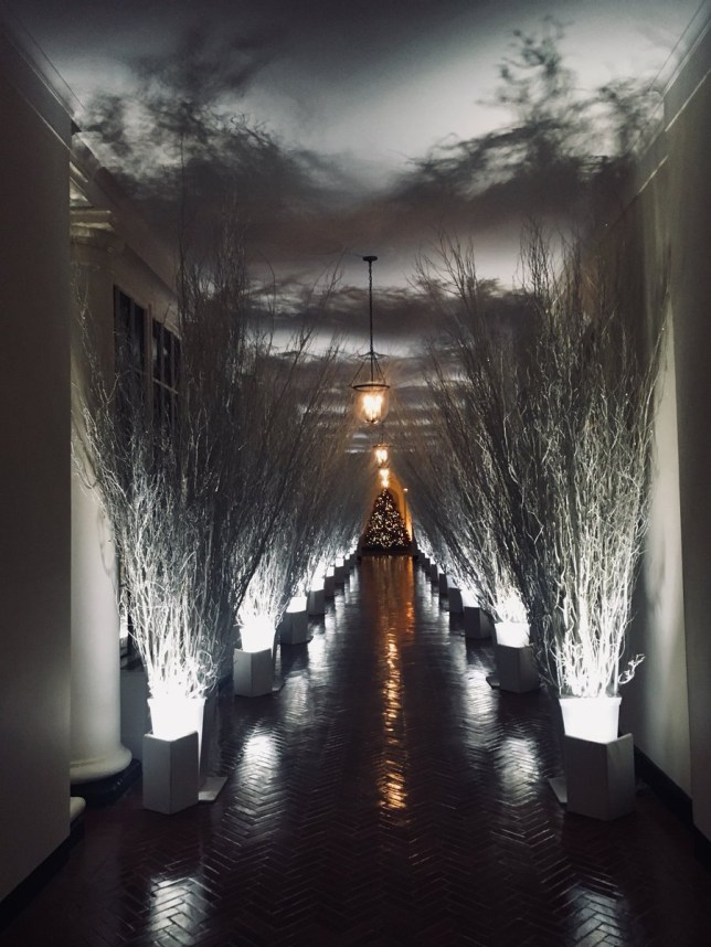Melania Trump's terrifying Christmas