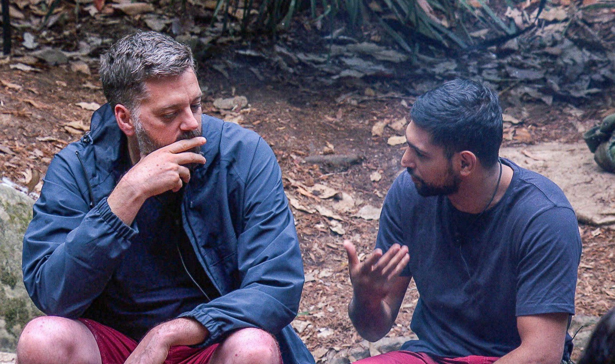 Amir Khan admits Iain Lee 'did suffer' in the I'm A Celeb jungle