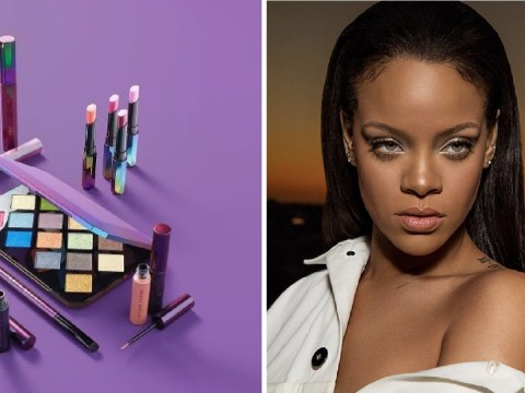 Rihanna's new Fenty Beauty Galaxy Collection products are here – with lipsticks and eyeshadow
