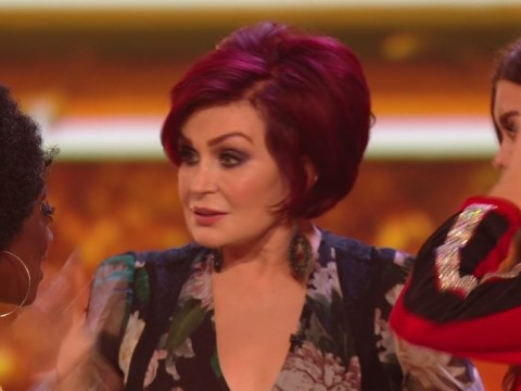 The X Factor's Sharon Osbourne drops the F-word after two of her acts leave the show