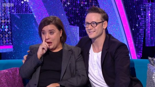 Susan Calman on Strictly Come Dancing It Takes Two
