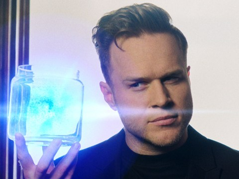 Olly Murs gets his game face on as he joins The Voice UK coaches in futuristic trailer