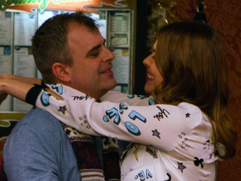 Coronation Street Christmas spoilers: Simon Gregson and Kate Ford reveal all on Steve McDonald and Tracy Barlow reunion