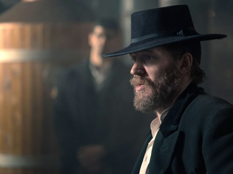 Who is Alfie Solomons as played by Tom Hardy in Peaky Blinders and what happened to him at the end of season four?