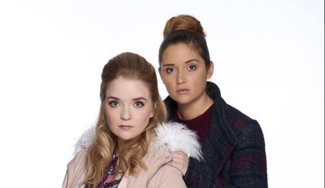 Lauren and Abi leave EastEnders