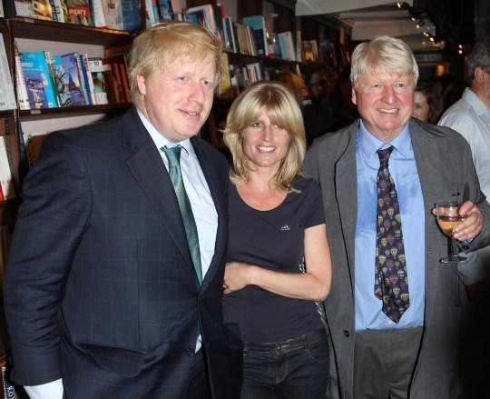 Boris, Rachel and Stanley Johnson