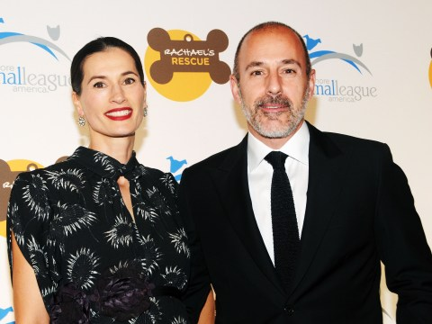Matt Lauer's wife 'leaves for Amsterdam' in wake of sexual misconduct allegations