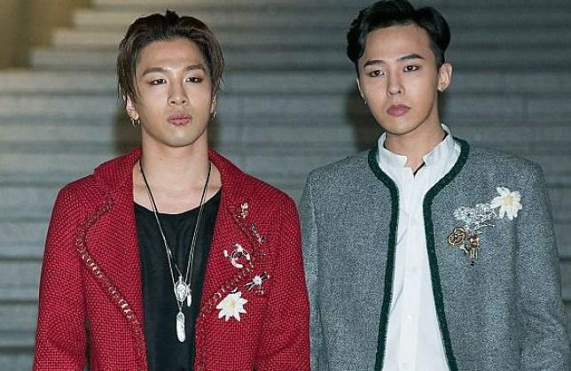 Taeyang and G-Dragon