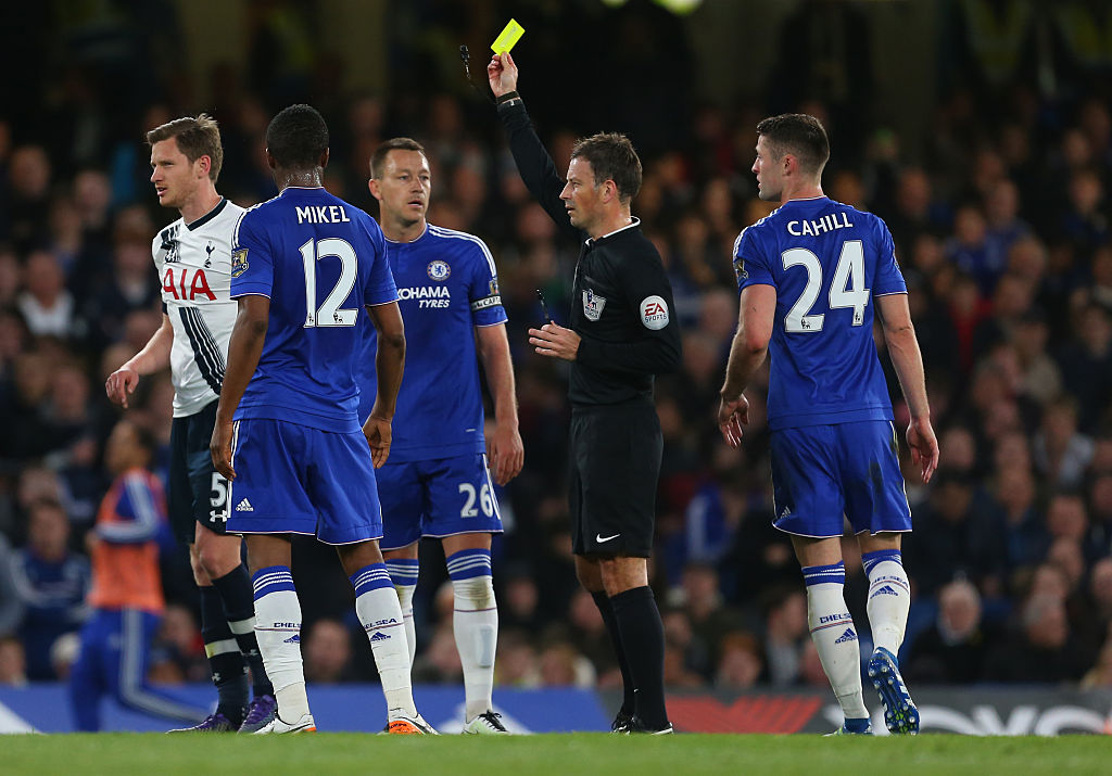 Mark Clattenburg claims he had 'gameplan' and 'allowed' Tottenham to self-destruct at Chelsea in 2016