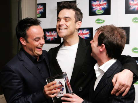 Robbie Williams' shock at learning of Ant McPartlin's addiction: 'He was my go-to normal pal'