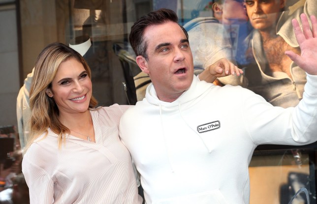 How old is Robbie Williams and what is his and Ayda Field's